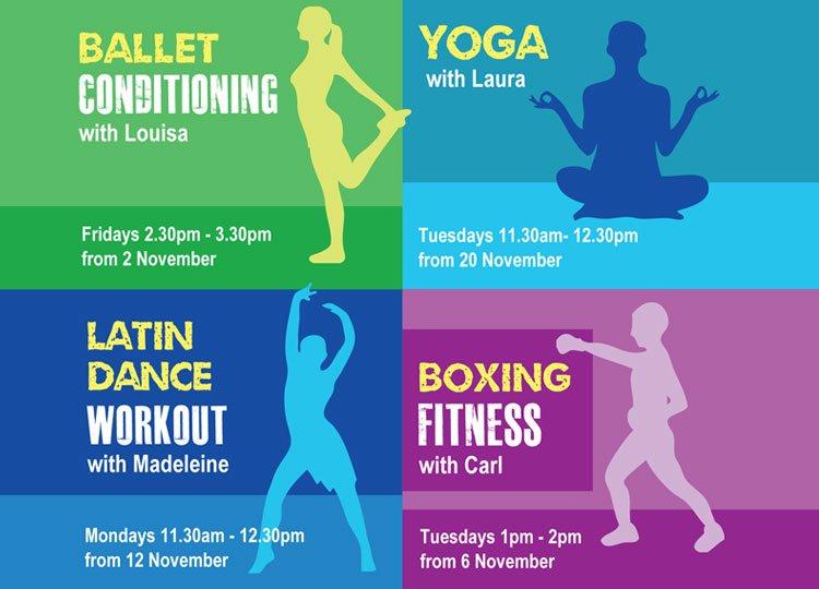 Free 50+ fitness programme