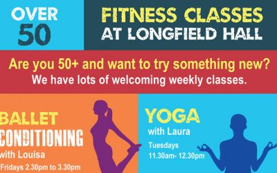 Free 50+ fitness classes – Autumn term dates TBC