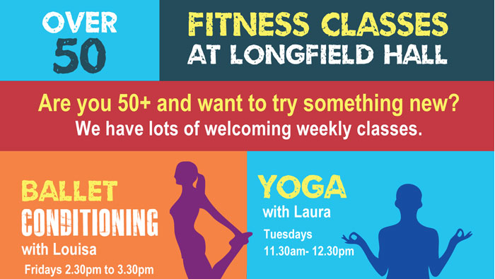 Free 50+ fitness classes – Return dates TBC