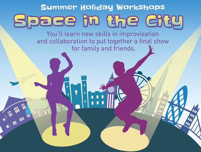 Space in the City Summer Holiday Workshops