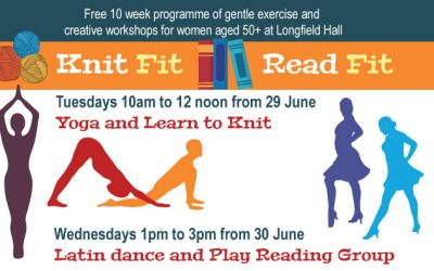 Free Latin Dance / Play Reading Group for 50+